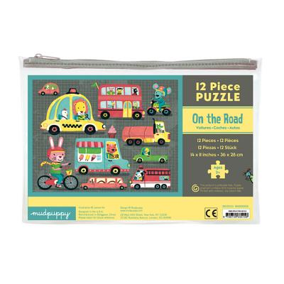 On the Road 12 Piece Puzzle By Ho, Jannie (ILT)